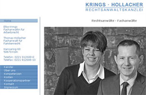 Website Krings-Hollacher