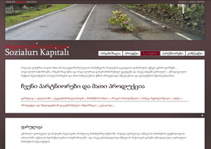 Website Sozialuri Kapitali